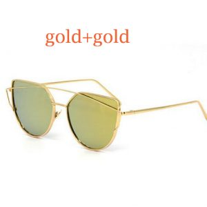 Vintage Mirror Sunglasses For Women