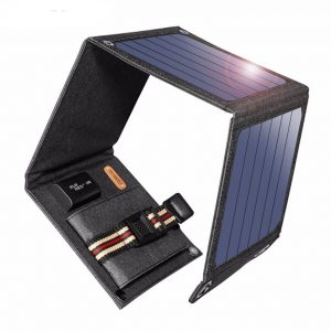 14W Solar Cell Phone and Laptop Charger