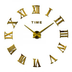 Modern Wall Clock - DIY