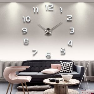 Modern Wall Clock - Regular Numbers - DIY