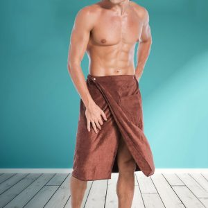 Men's Microfibre Wearable Bath Towel