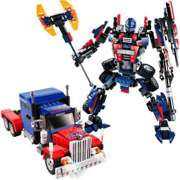 2 In 1 Transformer Robot Series - Multi-colour