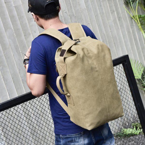 Men's Canvas Shoulder Bag 1
