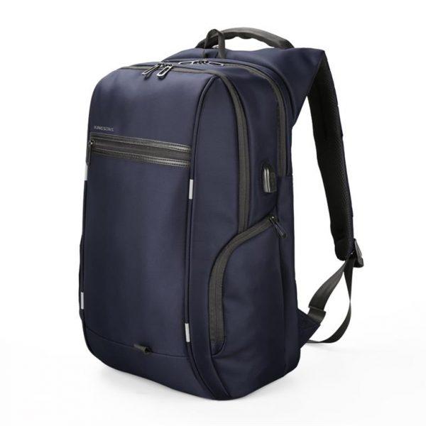 Business Backpack for Laptop - Model A Blue