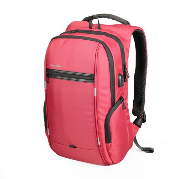 Business Backpack for Laptop - Model A Red