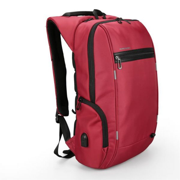 Business Backpack for Laptop - Model B Red