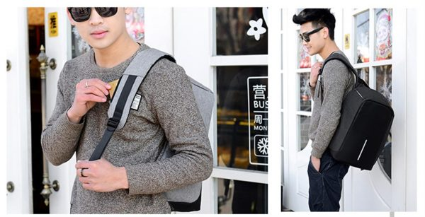 Men's Backpack with USB Charge Port - Sample 3