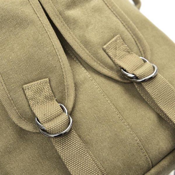 Men's Canvas Shoulder Bag - Detail 1