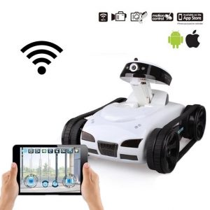 Mini WiFi RC Tank with Camera Support - 3
