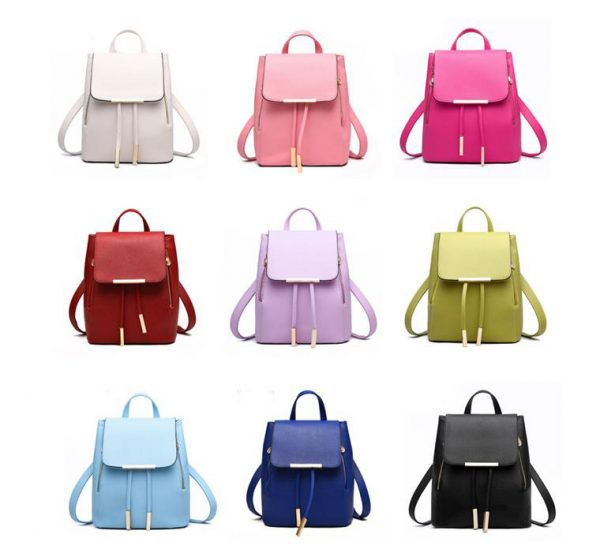 Women's High Quality Backpack - Preppy - Colours