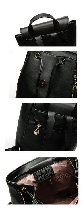 Women's High Quality Backpack - Preppy - Details