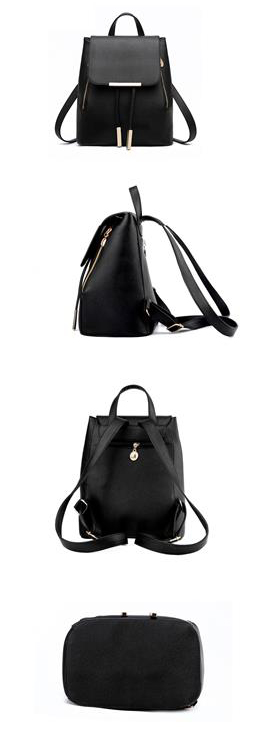 Women's High Quality Backpack - Preppy - Display