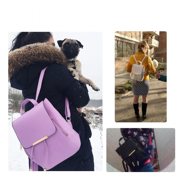 Women's High Quality Backpack - Preppy 1