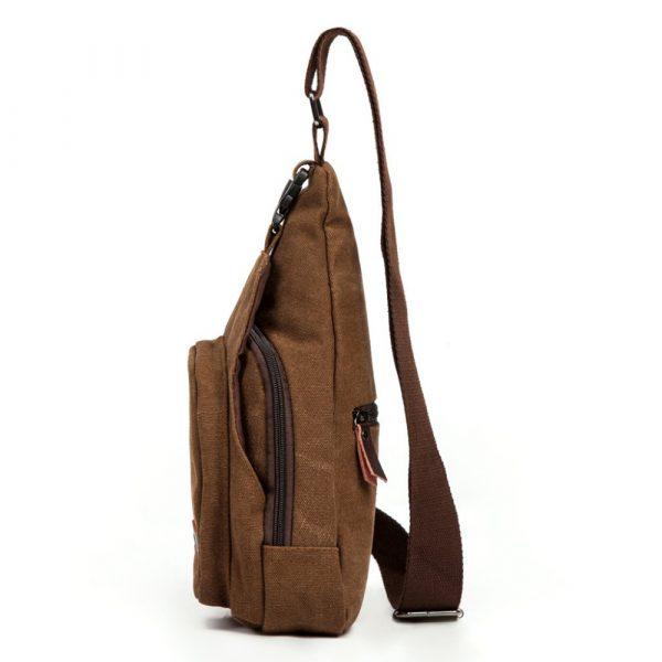 Men's Military Canvas Shoulder Bag