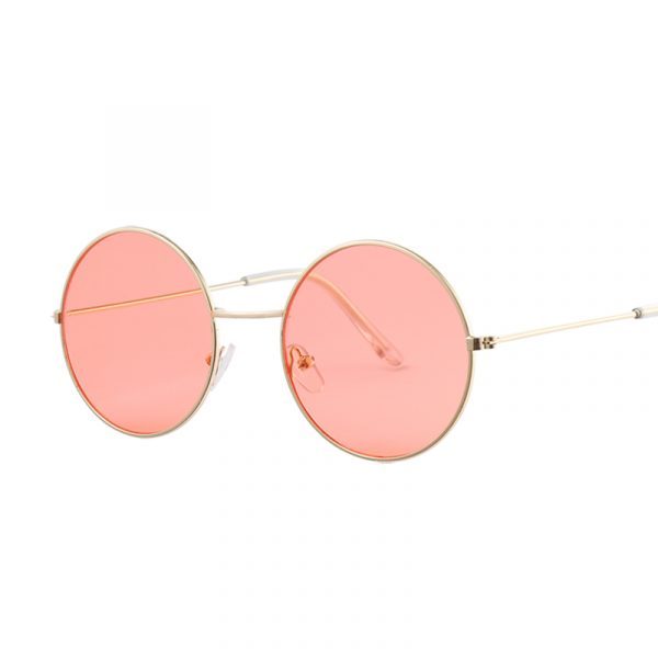 Women's Round Mirror Sunglasses 3