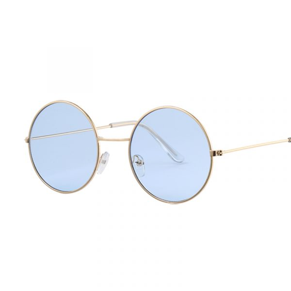 Women's Round Mirror Sunglasses 2