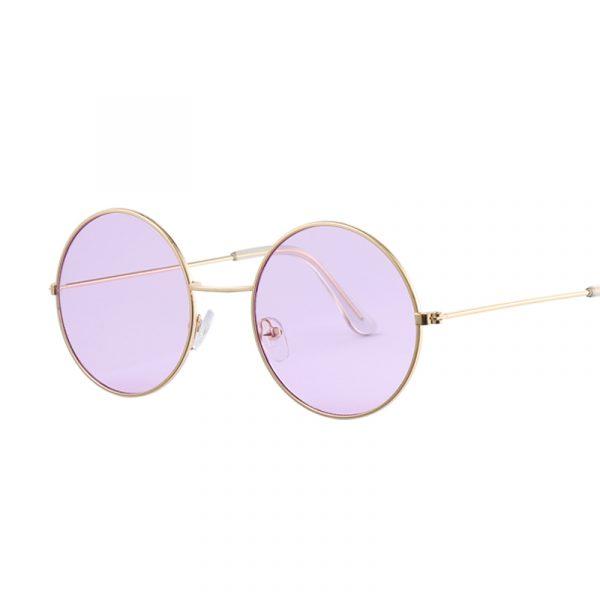 Women's Round Mirror Sunglasses 1