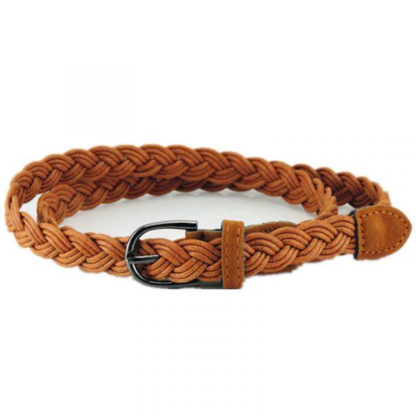 Women's Braided Rope Belt