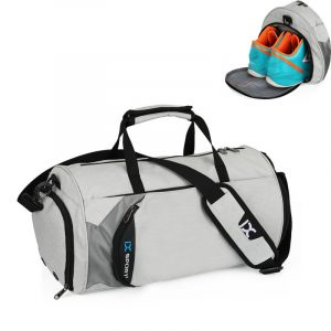 Men's Cylindrical Sports Gym Bag