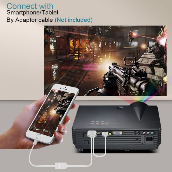 Smart LED Projector For Home Theater