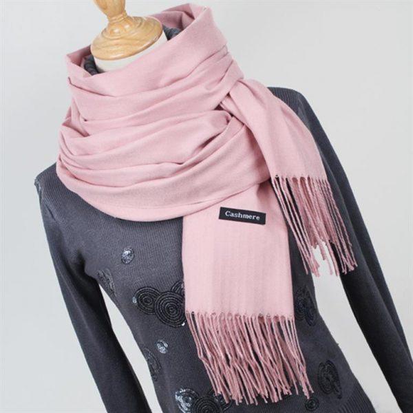 Women's Scarves With Tassel 1