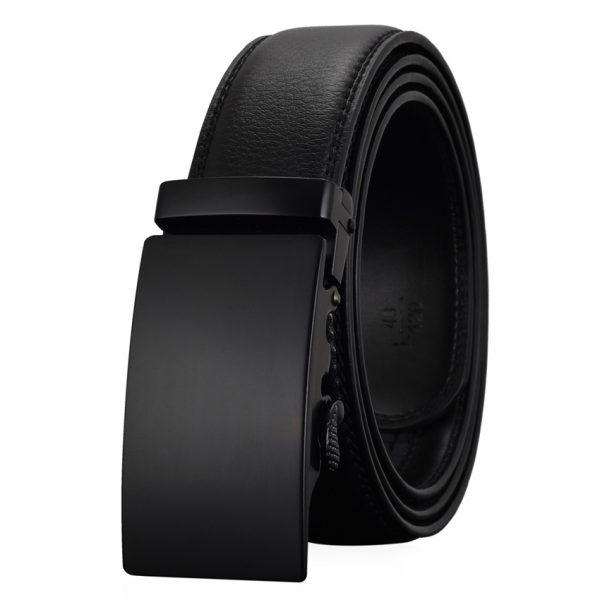 Men's Automatic Buckle Leather Luxury Belts