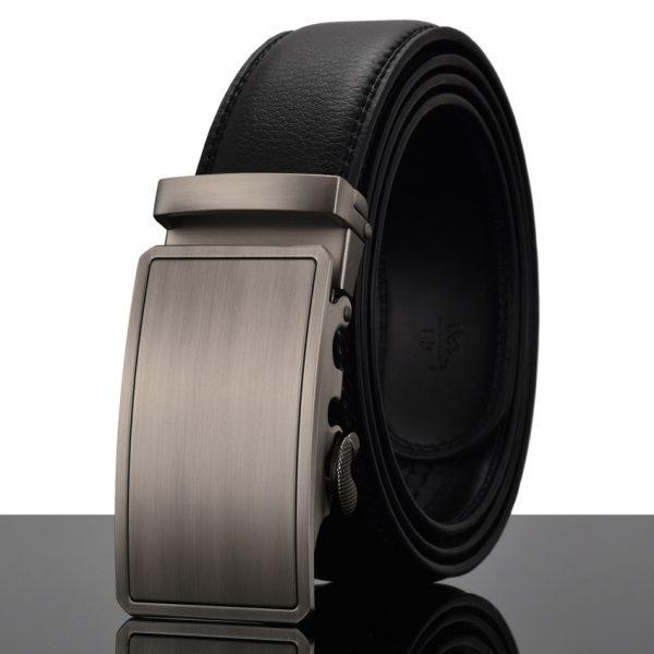 Men's Automatic Buckle Leather Luxury Belts 2
