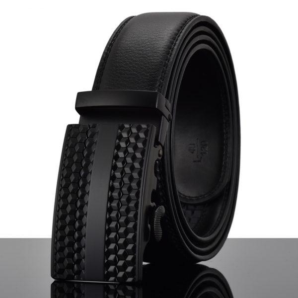Men's Automatic Buckle Leather Luxury Belts 3