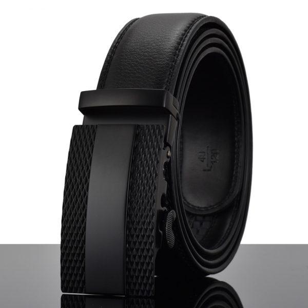 Men's Automatic Buckle Leather Luxury Belts 1