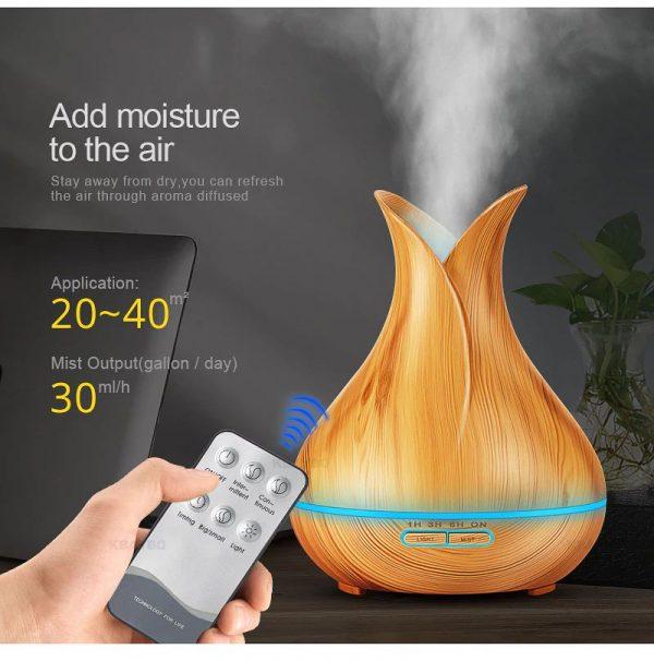 400ml Essential Oil Ultrasonic Diffuser - Capacity