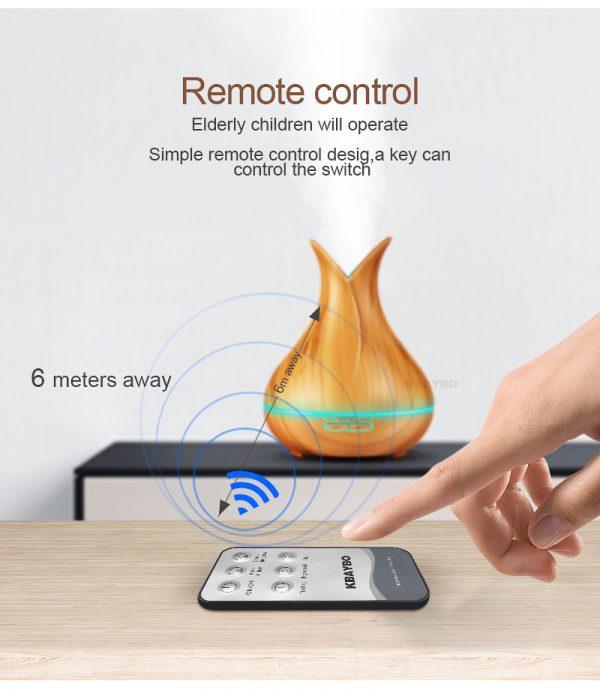 400ml Essential Oil Ultrasonic Diffuser - Remote