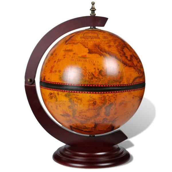 Tabletop Globe Mini Bar
