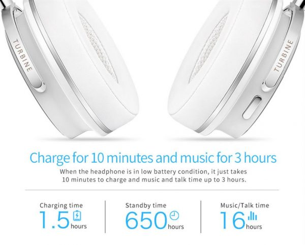 Active Noise Cancelling Wireless Bluetooth Headphones - 9
