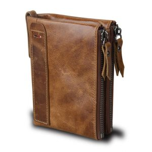 Large Genuine Leather Men's Wallet
