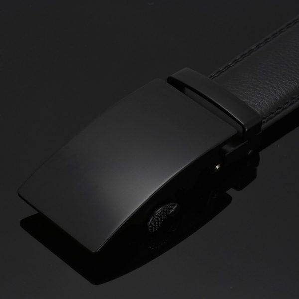 Men's Automatic Buckle Leather Luxury Belts - 1
