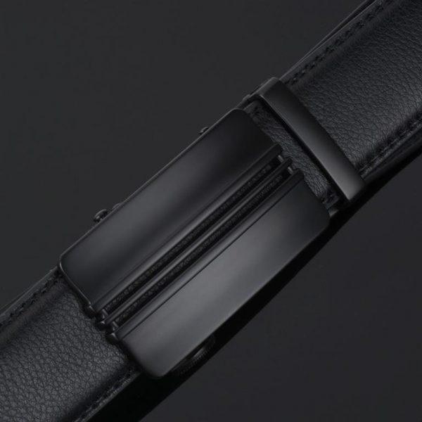 Men's Automatic Buckle Leather Luxury Belts - 2