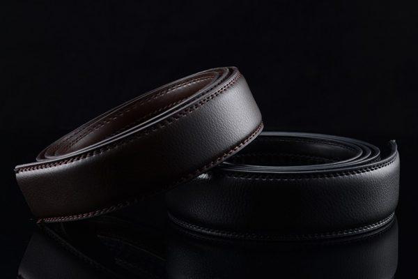 Men's Automatic Buckle Leather Luxury Belts - 3