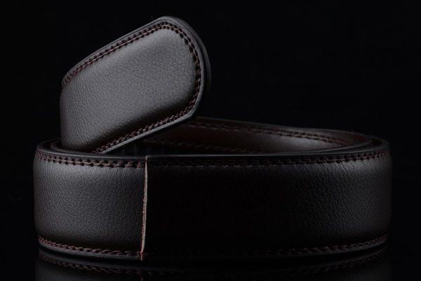Men's Automatic Buckle Leather Luxury Belts - 4