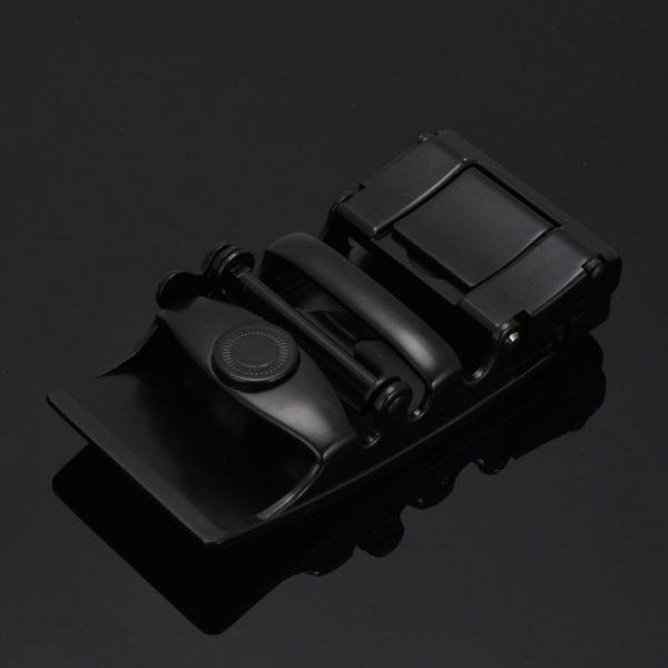 Men's Automatic Buckle Leather Luxury Belts - Detail