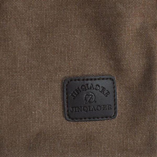 Men's Canvas Crossbody Messenger Bag - Tag
