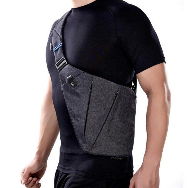 Men's Compact Single Shoulder Crossbody Bag