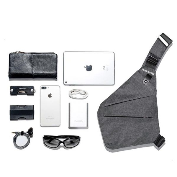 Men's Compact Single Shoulder Crossbody Bag - Comparison