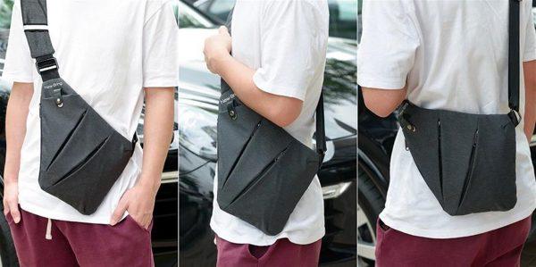 Men's Compact Single Shoulder Crossbody Bag - Model 2