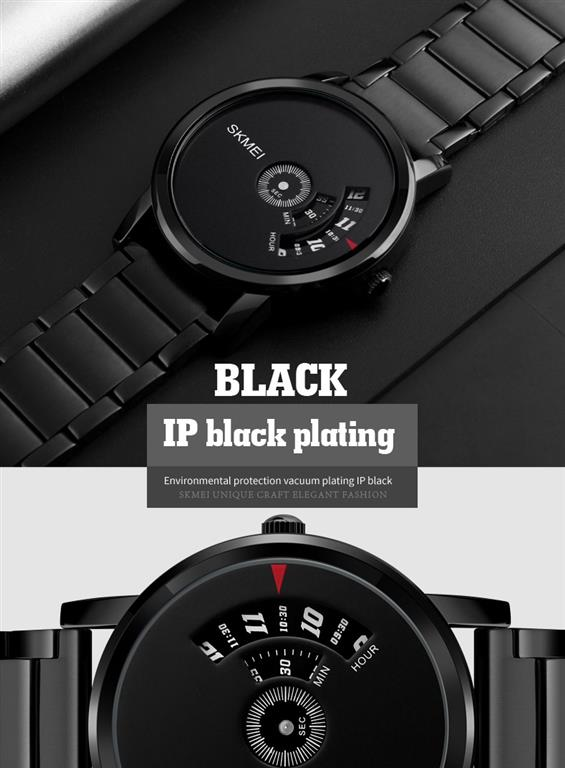 Men's Cool Quartz Watch - Black
