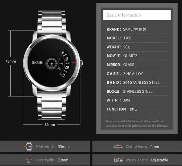 Men's Cool Quartz Watch - Details