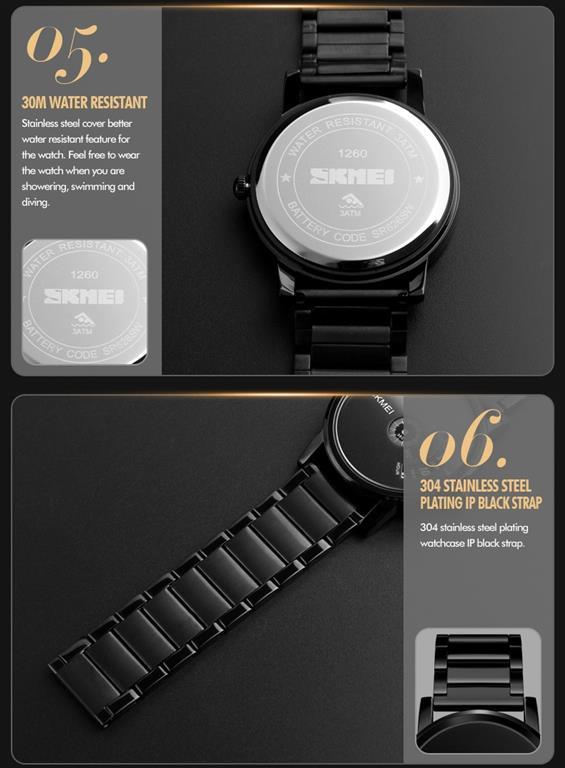 Men's Cool Quartz Watch - Promo 3