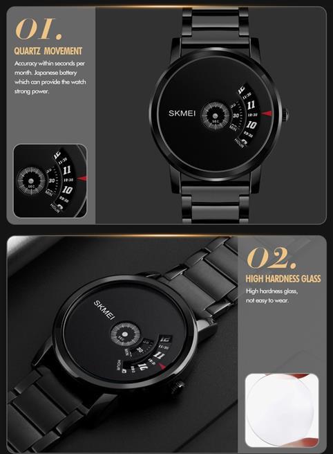 Men's Cool Quartz Watch - Promo