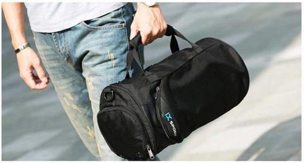 Men's Cylindrical Sports Gym Bag - Demo 2