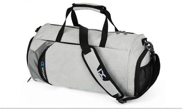 Men's Cylindrical Sports Gym Bag - Side