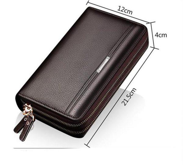 Men's Elegant Business Wallet - Size